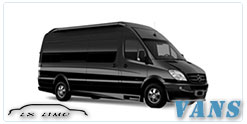 Luxury Van service in Memphis