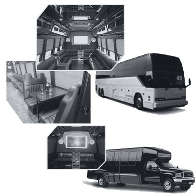 Party Bus rental and Limobus rental in Memphis, TN