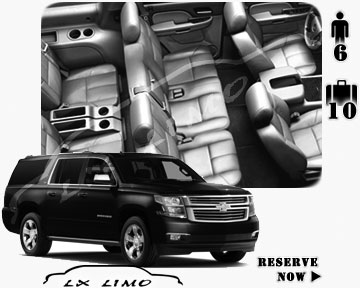 SUV Suburban for hire in Memphis