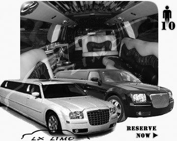 Chrysler 300 Limo for wedding in Memphis